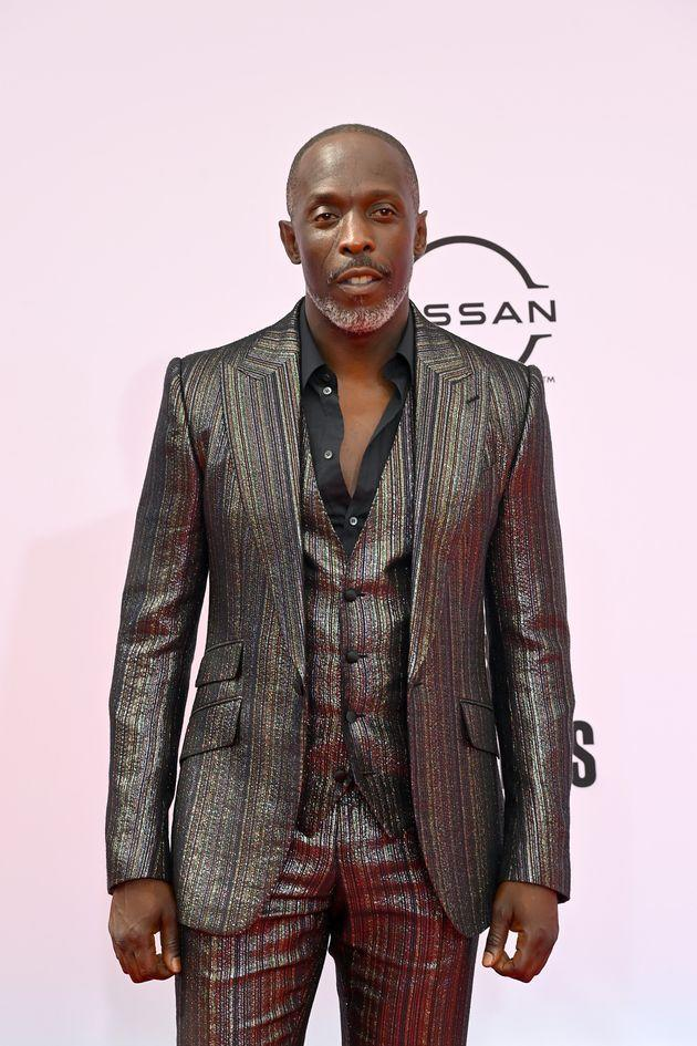 Michael Kenneth Williams pictured at the BET Awards earlier this year (Photo: Paras Griffin via Getty Images)