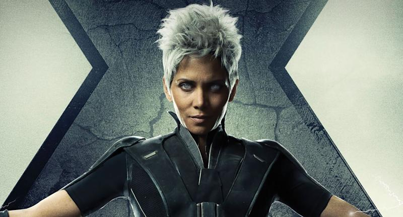 Detail from Halle Berry's X-MenL: Days of Future Past character poster. (20th Century Fox)