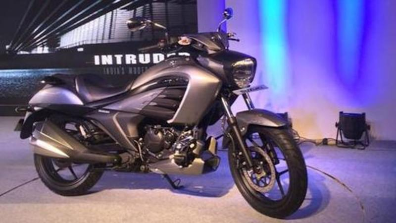 2019 Suzuki Intruder launched in India at Rs. 1.08 lakh