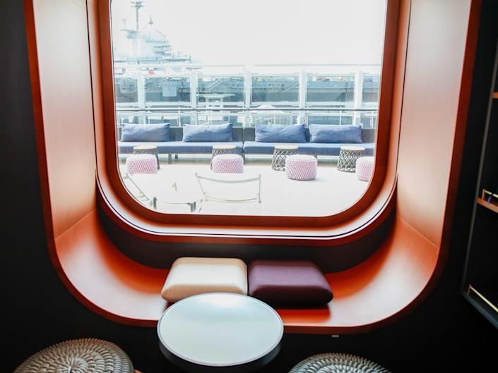seating by a window