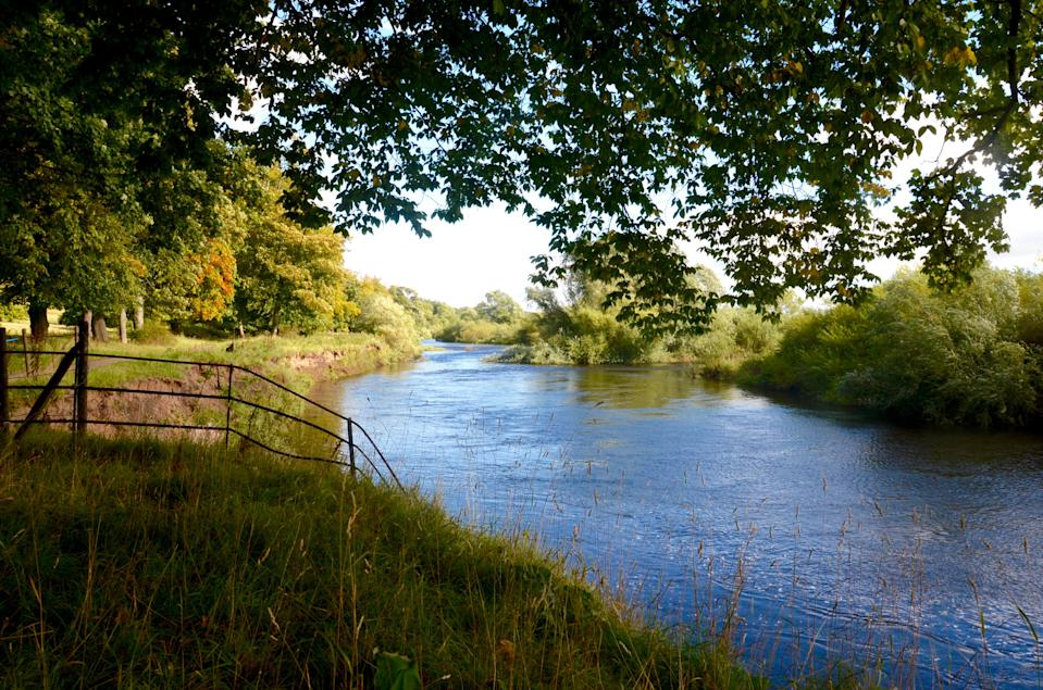 The River Clyde at Baron's Haugh in Motherwell