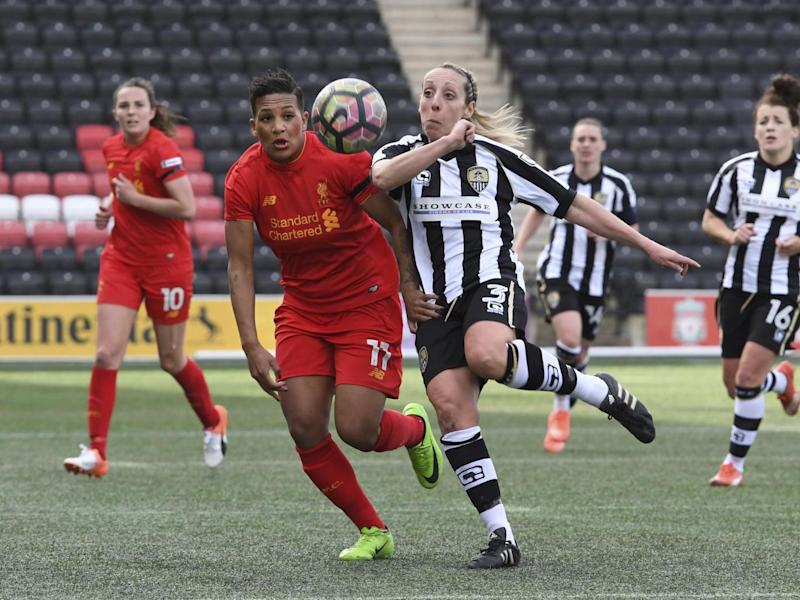 Notts County's Ladies team have been withdrawn from the WSL (Getty)