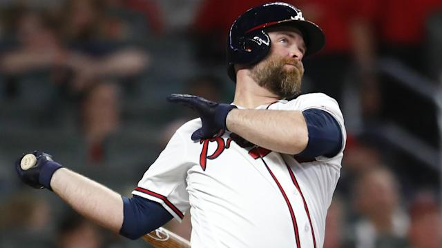 Brian McCann, 35, made the announcement after Wednesday's 13-1 Game 5 rout in the NLDS and 15 MLB seasons.
