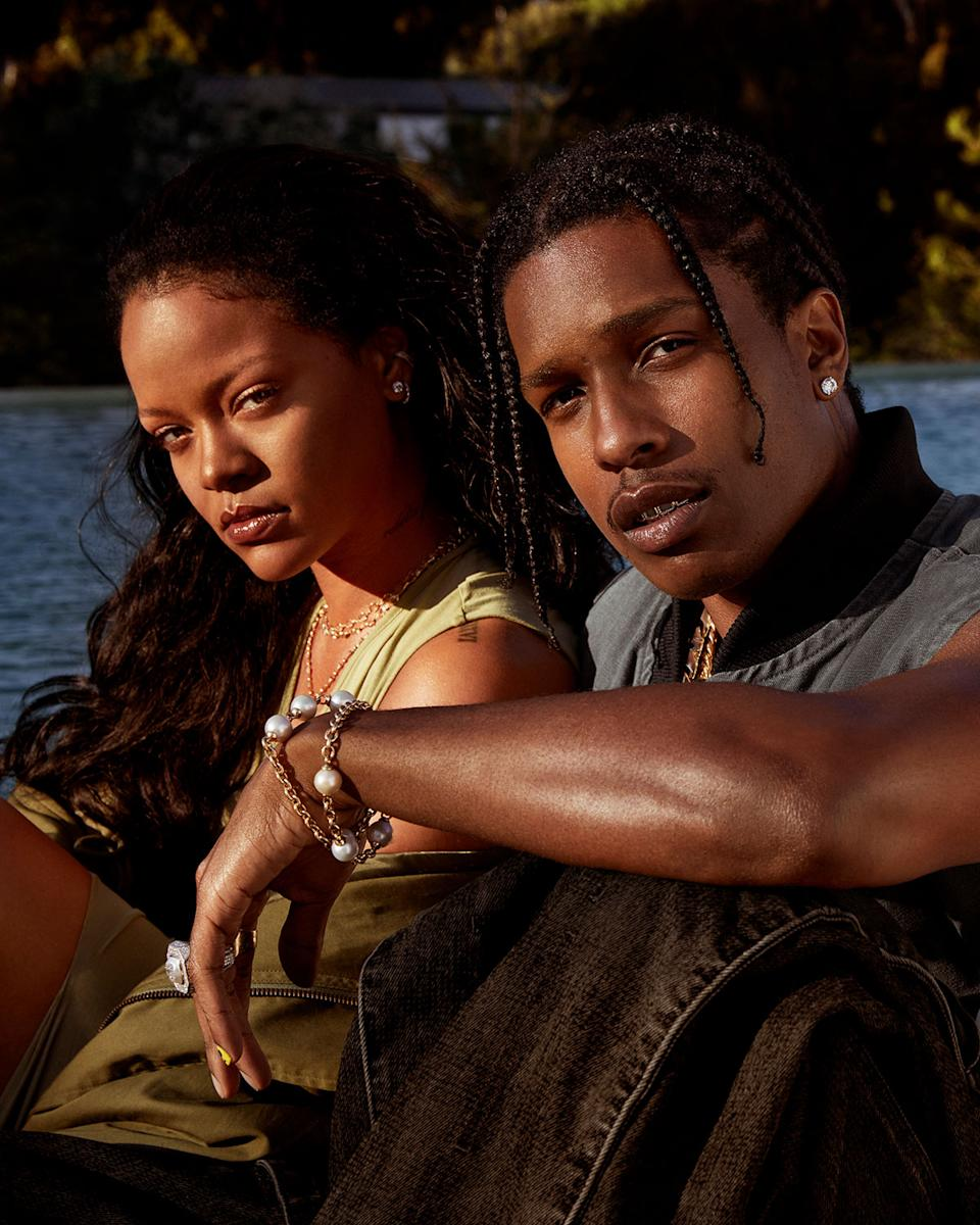 Rihanna and AP AP Rocky star in the campaign for their new Fenty Skin skin care line.  (Photo of Fenty Skin kindly agreed)