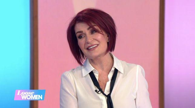 Sharon Osbourne told 'Loose Women' Ozzy Osbourne is recovering well (Credit: ITV/Loose Women)