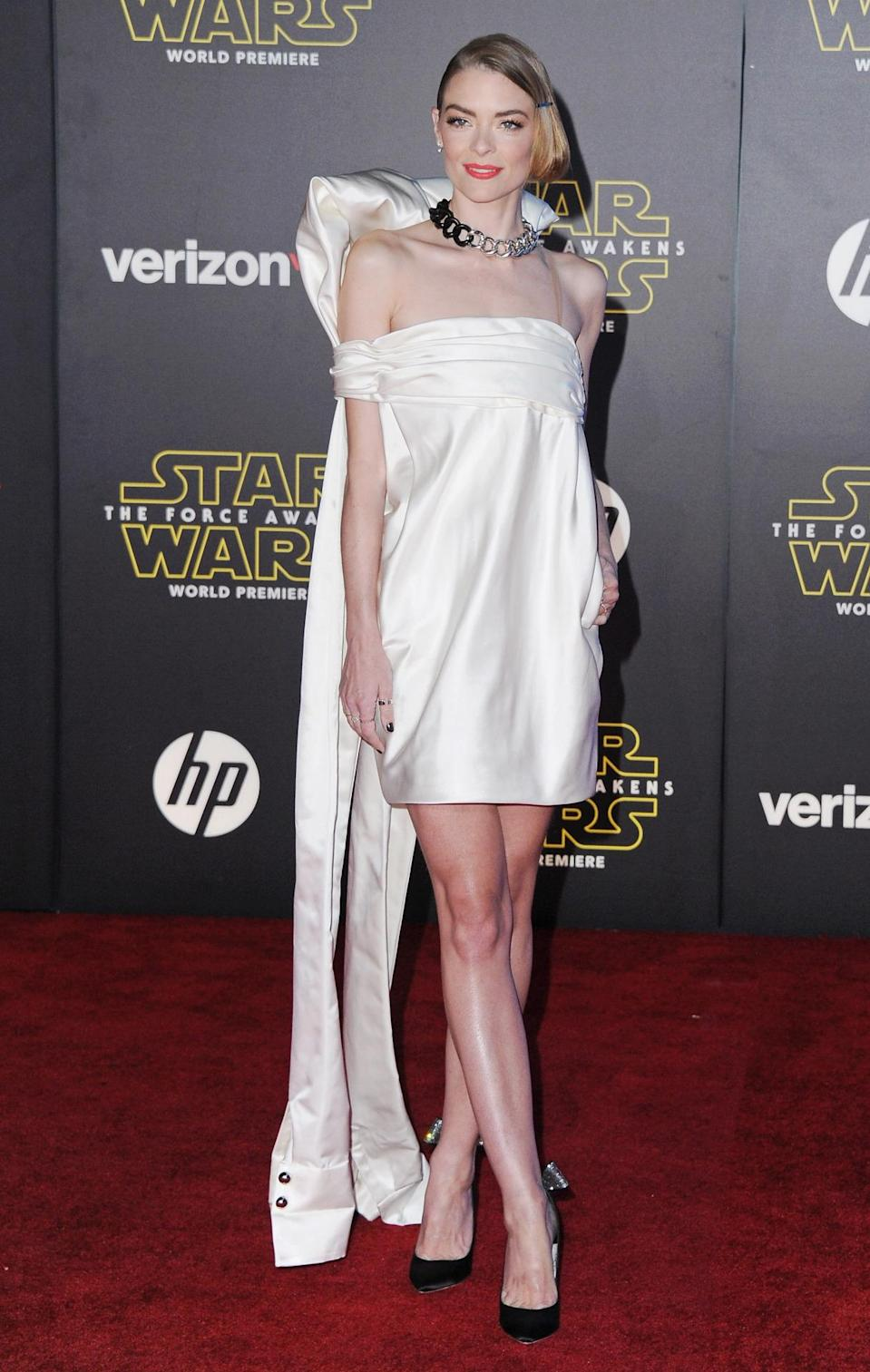 <p>Monse, which should finally be available for sale this spring, has been seen on stars like Selena Gomez and Sienna Miller. Last night, Jamie King wore a custom dress by the ODLR alums on the <i>Star Wars </i>red carpet.</p><p><i>Photo: Getty Images</i></p>