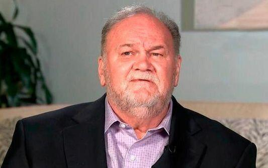 Thomas Markle fell out with his famous daughter last year after he pulled out of the royal wedding with just days' notice. Photo: ITV