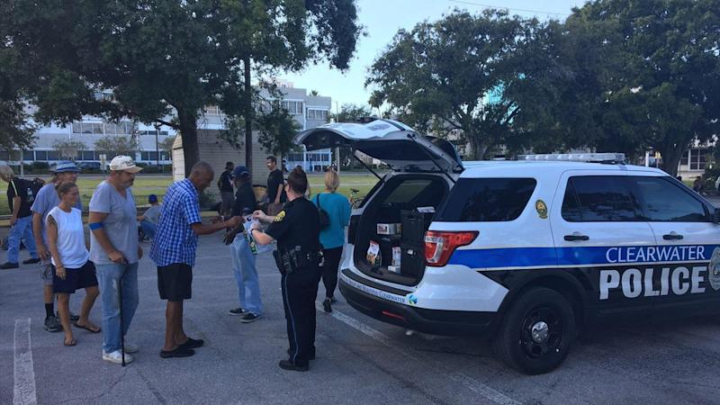 Cops Give Doughnuts to the Homeless After Finding Stolen Krispy Kreme Van