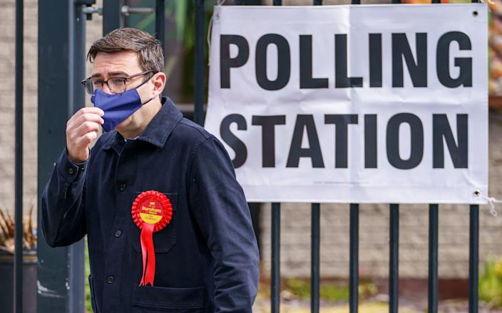 Andy Burnham has been re-elected as Mayor of Greater Manchester with a resounding majority - Danny Lawson/PA Wire
