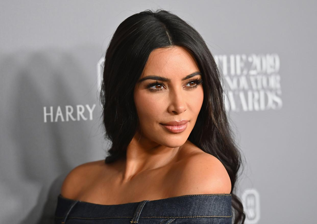 Kim Kardashian is one of many celebrities and athletes to have endorsed CBD products. (Photo by Angela Weiss / AFP)