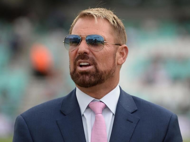 Cricketer Shane Warne has been rocking a beard recently. Source: Getty