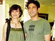 Farhan Akhtar pairs with wife Adhuna for the first time