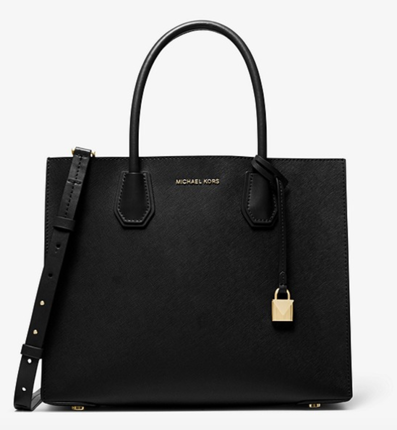 Mercer Large Saffiano Leather Tote Bag. (PHOTO: Michael Kors)