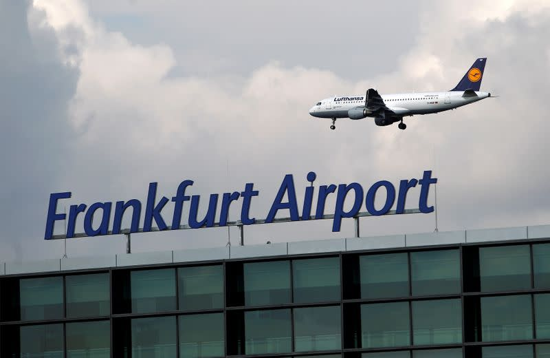 Frankfurt airport passenger volume down 14.5% at end of February - Fraport