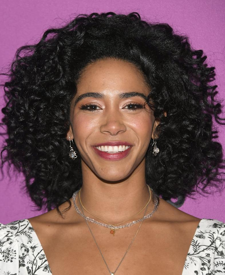 <p>Singer and actress Herizen Guardiola (whom you might recognize from her breakout role as Mylene Cruz on Netflix's <strong>The Get Down</strong>) plays Addy Hanlon, an ambitious high-school cheerleader who hopes to use her skills to secure a college scholarship and leave behind her Midwestern town of Sutton Grove.</p>