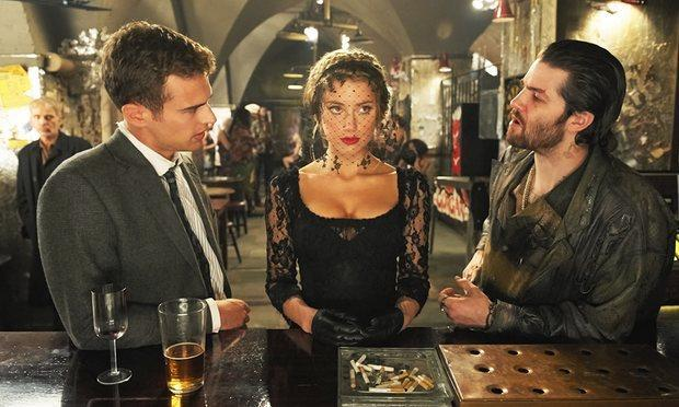 Amber Heard with Theo James and Jim Sturgess in beleaguered production London Fields: Steffan Hill
