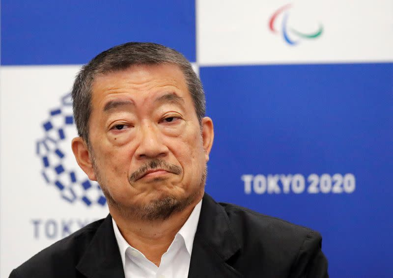 Tokyo 2020 Paralympic Games Executive Creative Director of the opening and closing ceremonies, Hiroshi Sasaki attends a news conferece in Tokyo