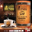 """<p>Our specialty coffee is soaked in fine Kentucky Bourbon, then dried and roasted golden blonde to perfection. The result is a perfect combination of flavor profiles, a velvety balance with intense, full-bodied notes of caramel, honey and butterscotch. Makes a great gift! <br></p><p>Available at select Costco locations, amazon.com and at <a class=""""link rapid-noclick-resp"""" href=""""http://www.donpablocoffee.com"""" rel=""""nofollow noopener"""" target=""""_blank"""" data-ylk=""""slk:www.donpablocoffee.com"""">www.donpablocoffee.com</a> </p>"""
