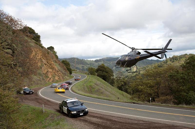 """This image released by DreamWorks II shows a scene from """"Need for Speed."""" (AP Photo/DreamWorks II, Melinda Sue Gordon)"""