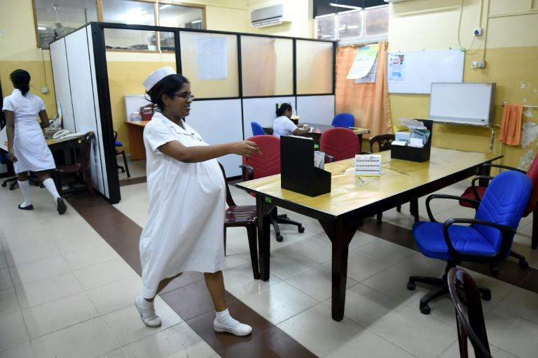 Sri Lanka'sGovernment Medical Officers Association (GMOA), the island's biggest trade union of doctors, stopped work on Thursday to demand the government close down a private medical college