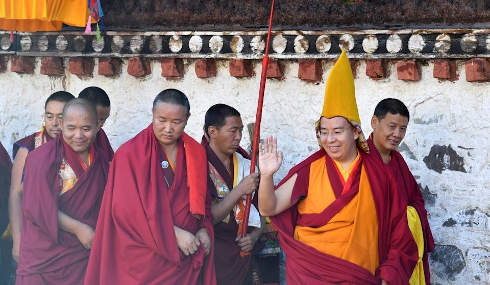 """The Tibet regional government has talked openly about a campaign to """"play down negative religious influence"""" among Tibetans. Photo: Xinhua"""