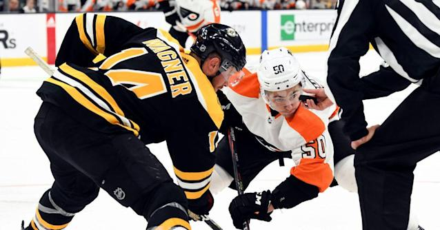 Projected Lines: Flyers at Bruins