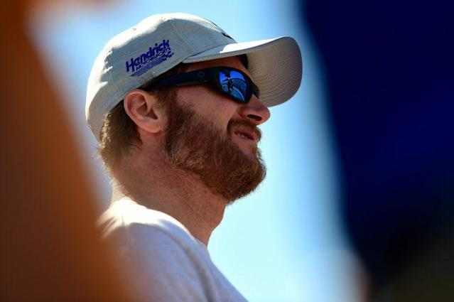 Dale Earnhardt Jr. has just 15 more races in his Cup career. (Getty)