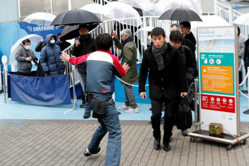 People in earthquake-prone Japan are familiar with evacuation drills, but a drill simulating a North Korean missile attack on Tokyo is still a novel idea.