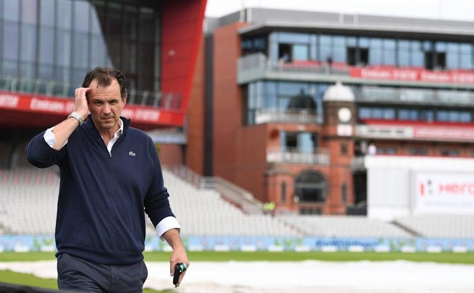 ECB boss Harrison said the rescheduled IPL had nothing to do with the Test being cancelled (Getty Images)
