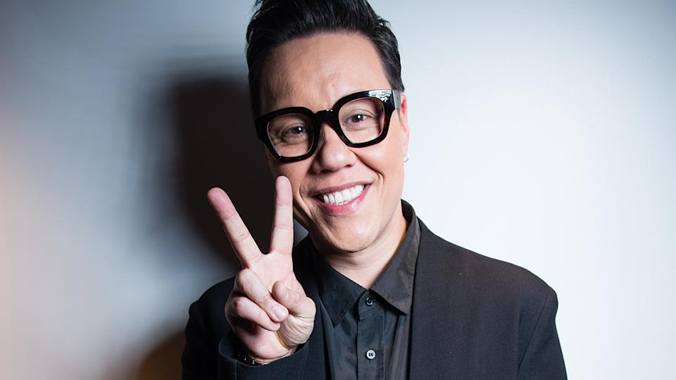 Gok Wan attends the Golden Chopstick Awards held at Marriott Hotel Grosvenor Square on April 16, 2018 in London, England. (Photo by Jeff Spicer/Getty Images)