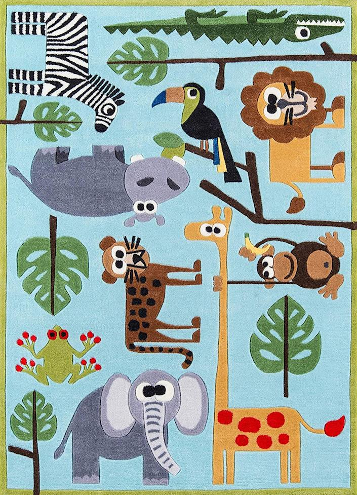 8 Adorable Area Rugs for Your Nursery