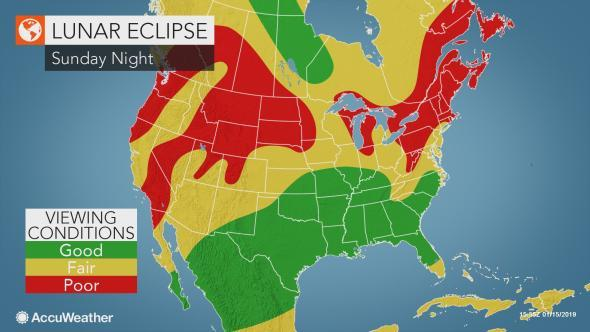 lunar eclipse viewing conditions