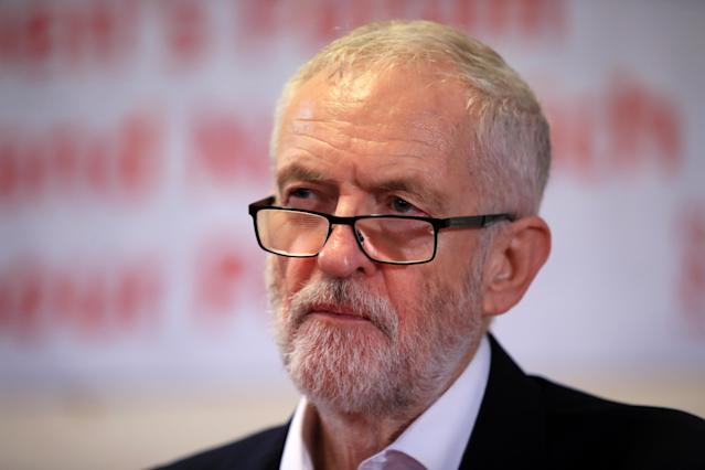 The Jewish Chronicle has urged Brits not to vote for Jeremy Corbyn (PA)