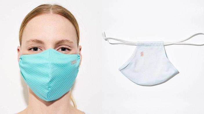 Keep your glasses fog-free with this mask.