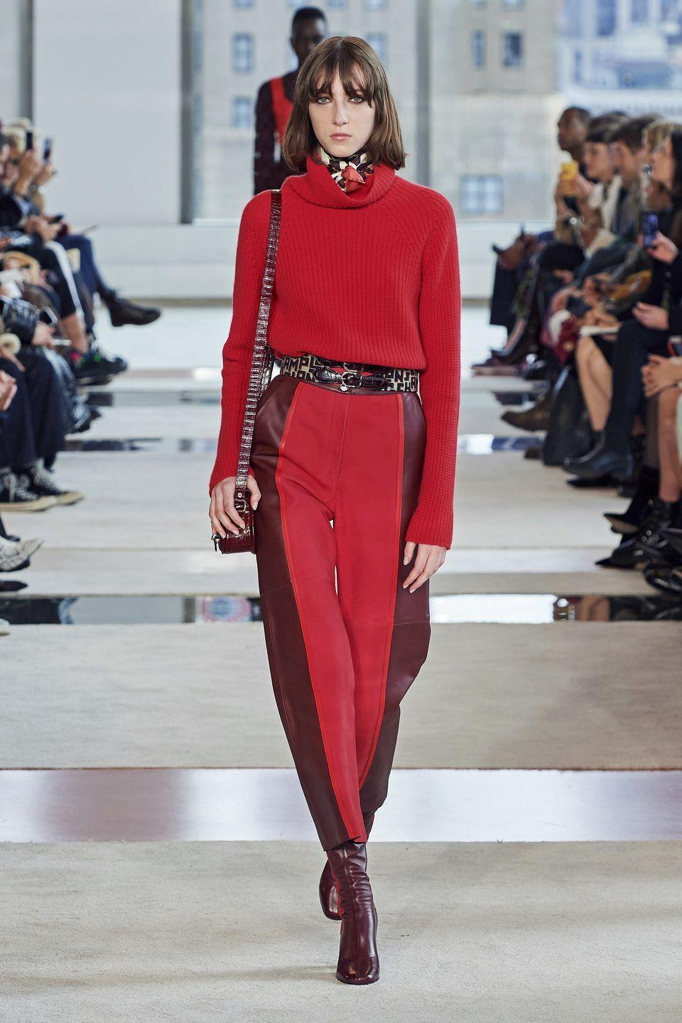 <p>Two, three, or four colors in one pair of pants? Hell yeah.</p><p><em>Longchamp</em></p>