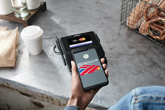 PayPal announced on Wednesday another way for Android Pay users to pay for purchases.