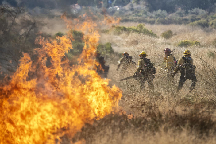 The Tick Fire. (Photo: Hans Gutknecht/MediaNews Group/Los Angeles Daily News via Getty Images)