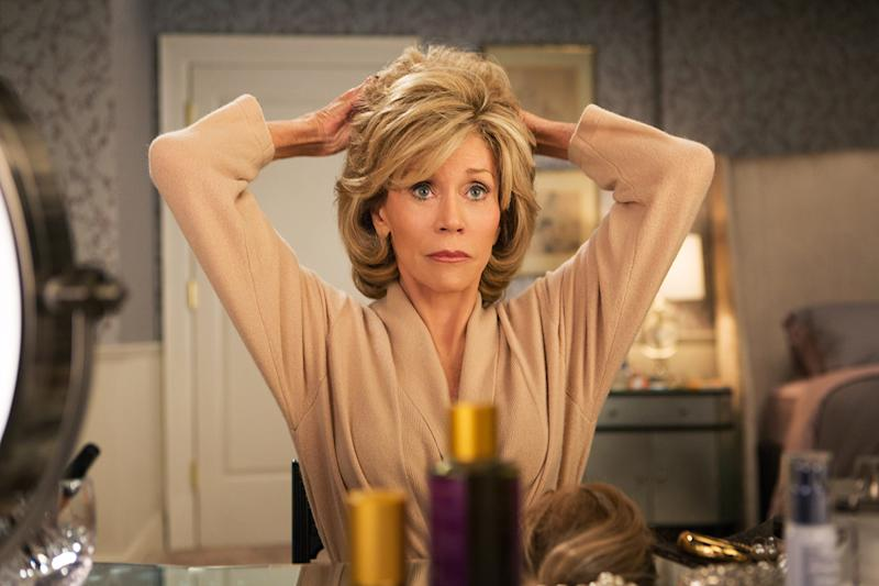Jane Fonda in GRACE AND FRANKIE, (Photo: Everett Collection)