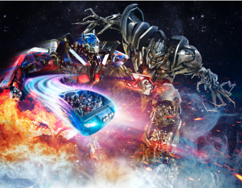 Become a freedom fighter and battle evil in TRANSFORMERS The Ride: The Ultimate 3D Battle at Universal Studios Singapore.