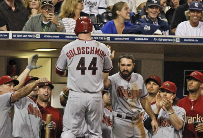 Gregorius lifts Diamondbacks over Padres 2-1 in 12