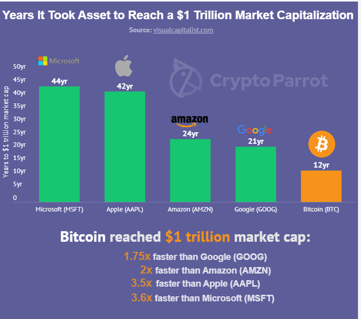 Chart: CryptoParrot