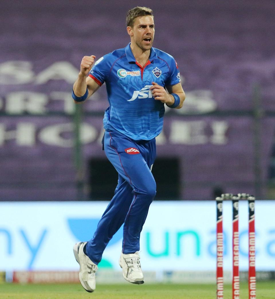 Anrich Nortje has been one of the standout performers for the Delhi Capitals, picking up 19 wickets in the season so far.