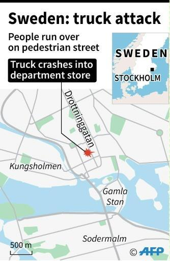 Sweden arrests man for 'terrorist crime' after truck attack