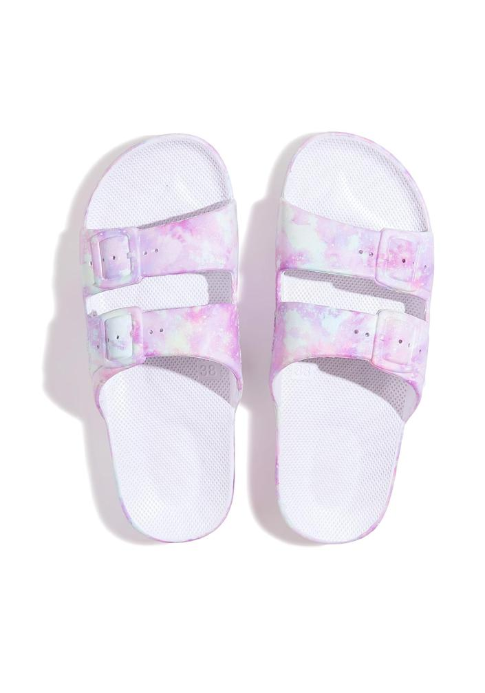 """<p>Cute, comfortable and affordable, these splash-proof sandals — which come in a ton of colors, prints and patterns — are the """"It"""" shoe of the summer.</p> <p><strong>Buy it!</strong> $50; <a href=""""https://click.linksynergy.com/deeplink?id=93xLBvPhAeE&mid=42352&murl=https%3A%2F%2Fwww.shopbop.com%2Ffreedom-moses%2Fbr%2Fv%3D1%2F62724.htm%3Fall&u1=PEOIntroducingPEOPLEsProductsWorththeHypein2021khogan1271StyGal12821774202107I"""" rel=""""sponsored noopener"""" target=""""_blank"""" data-ylk=""""slk:shopbop.com"""" class=""""link rapid-noclick-resp"""">shopbop.com</a></p>"""