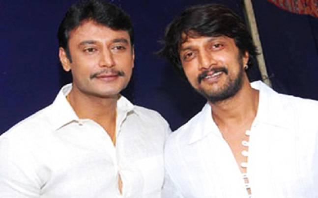 Sudeep is not my friend, tweets actor Darshan Thoogudeepa