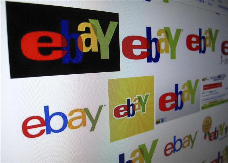 File photo of results of a Google search on Ebay on monitor in Encinitas