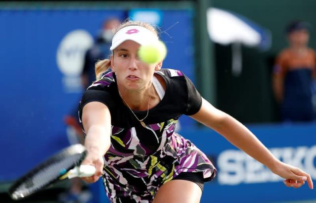 Tennis - Pan Pacific Open Women's Singles Semi-final match