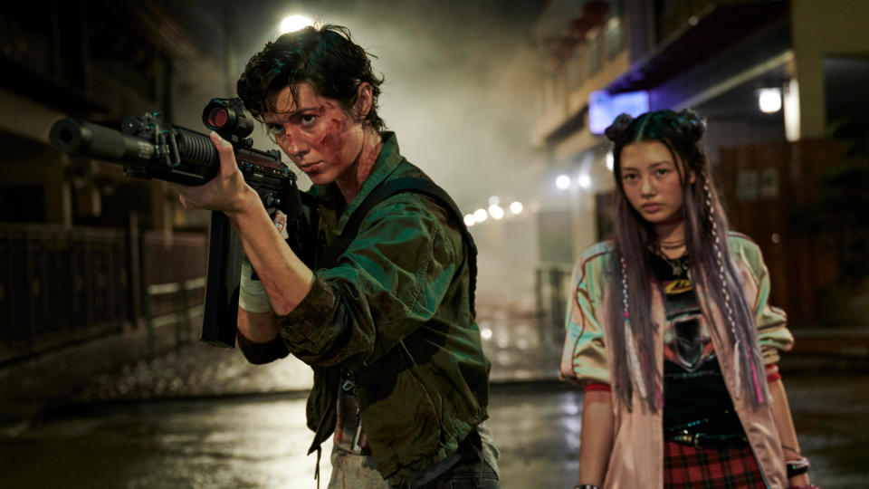 Mary Elizabeth Winstead plays a ruthless assassin in new thriller 'Kate'. (Netflix/Jasin Boland)