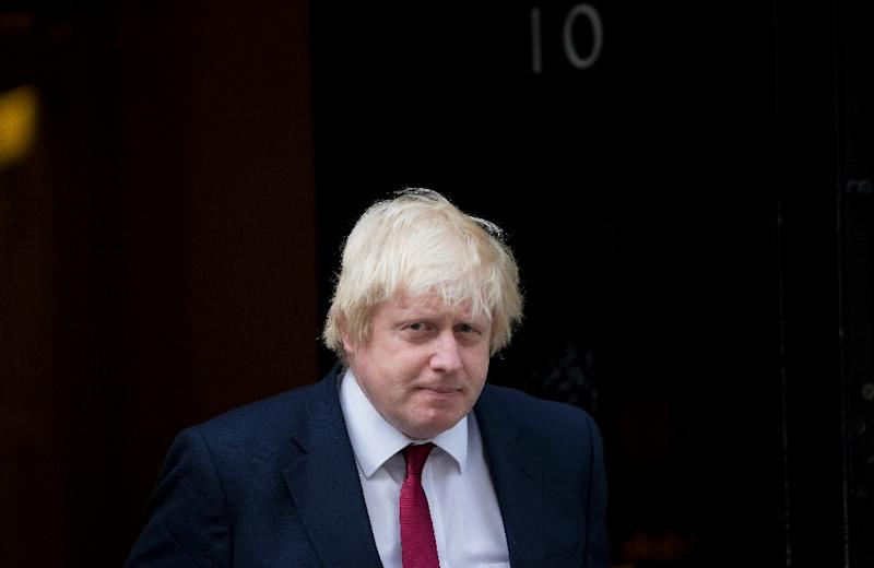 Newly appointed Foreign Secretary Boris Johnson leaves 10 Downing Street in central London on July 13, 2016 after new British Prime Minister Theresa May took office (AFP Photo/Justin Tallis)