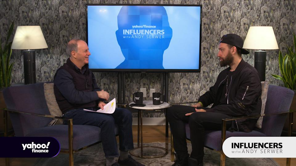 Fred Schebesta, the co-founder of Finder.com, appears on Influencers with Andy Serwer.